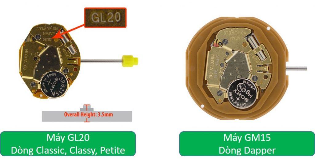 Máy móc đồng hồ DW nữ fake và chính hãng