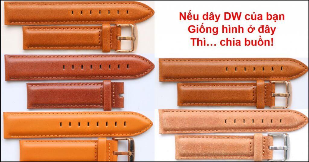 những màu dây durham fake đồng hồ daniel wellington