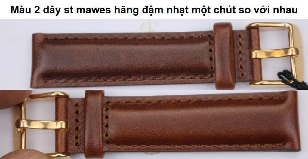 dây mawes đồng hồ daniel wellington chính hãng lệch màu
